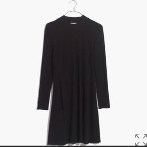 Madewell city block mockneck dress